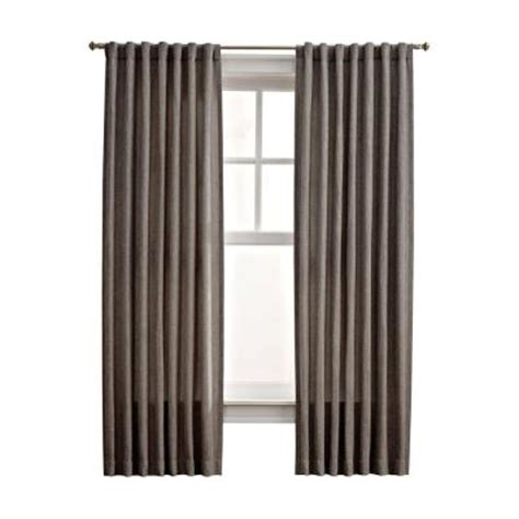 martha stewart living drapes martha stewart living zinc thermal tweed back tab curtain