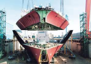 south korea s shipbuilders still in the lead