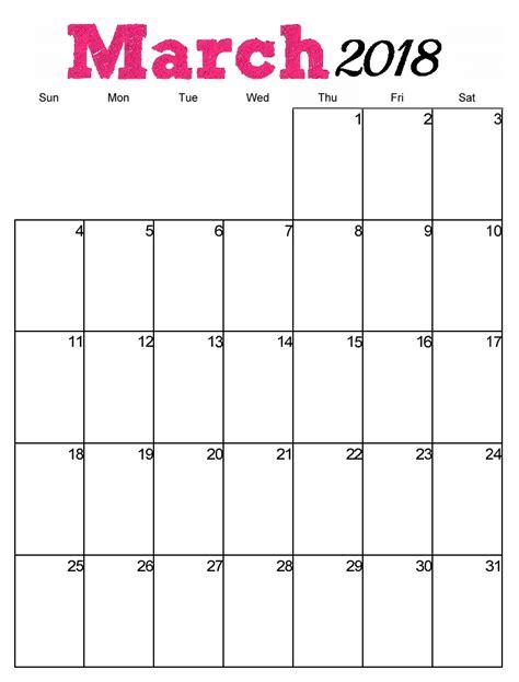 vertical template 2018 monthly vertical calendar templates max calendars