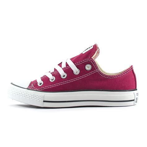 Sepatu Converse Low Maroon Unisex unisex converse all chuck ox maroon low trainers m9691c ebay