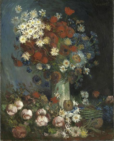 vaso di fiori gogh vaso di fiori e lottatori le due nuove opere di vincent