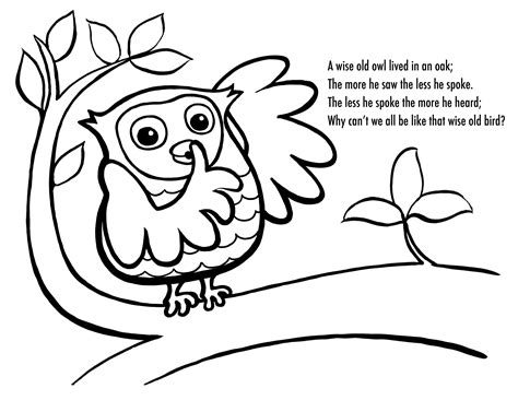 owl birthday coloring page free printable owl coloring pages for kids