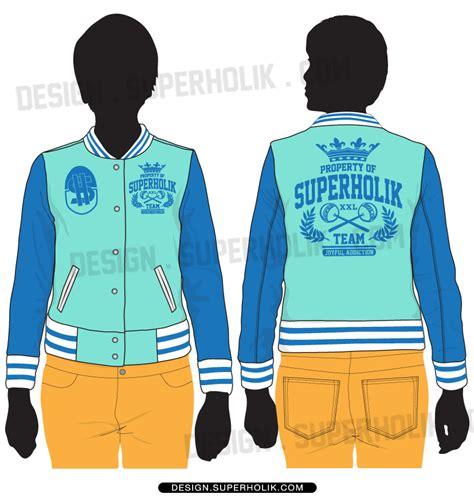 varsity jacket template psd junior varsity jacket template set hellovector