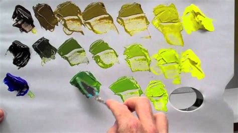 what colors do you mix to make gold how to mix green acrylic paint