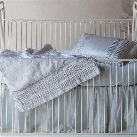 Dust Ruffle Crib by Linen Crib Dust Ruffle By Notte Linens