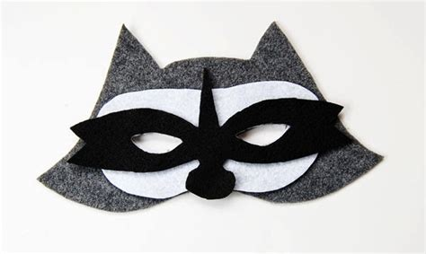 printable raccoon mask raccoon pictures for kids cliparts co