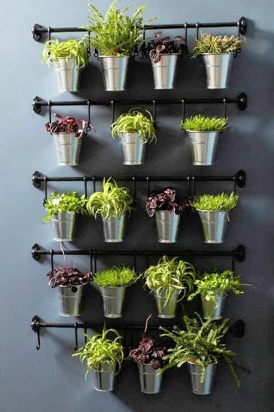 wall herb garden ikea blank walls hanging artwork and herbs on pinterest