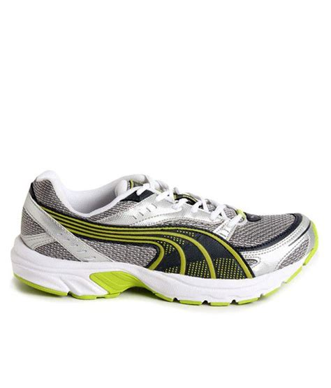 axis sport shoes buy axis silver sport shoes for snapdeal