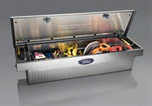 oem ford f series single lid crossover tool box by delta