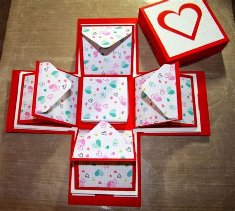 how to make an exploding box card 25 best ideas about explosion box tutorial on