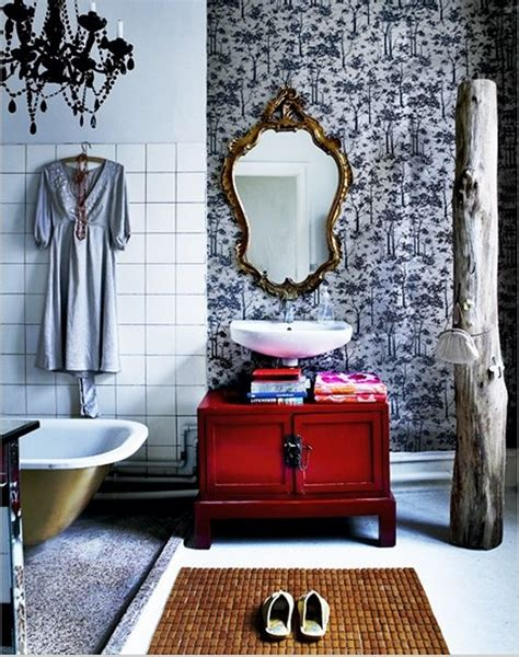 Boho Bathroom Decor by 25 Awesome Bohemian Bathroom Design Inspirations