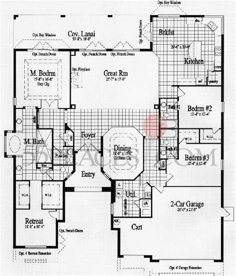riviera floorplan 2983 sq ft solivita 55places