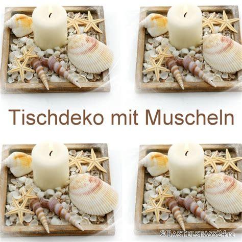Deko Ideen Garten Selber Machen 2188 by Tischdeko Sommer Mit Muscheln Schnecken Und Seesterne In