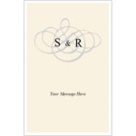 Avery Greeting Card Template 3378 by Templates Wedding Monogram Half Fold Card 1 Per