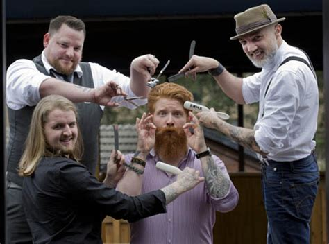 barber glasgow beard great british barber bash in glasgow this weekend