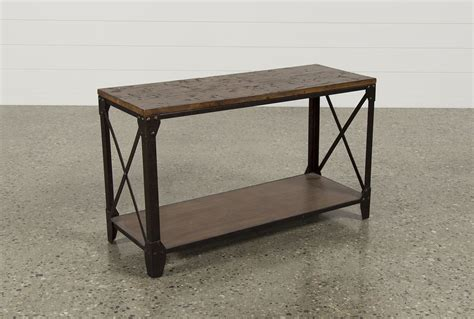 living spaces sofa table mountainier sofa table living spaces