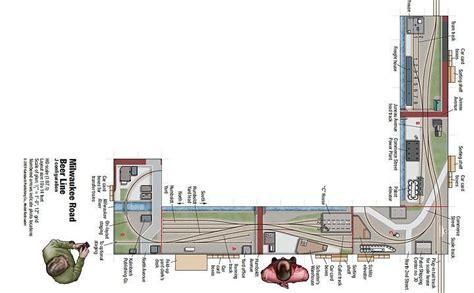Ho Shelf Layouts by 1 Shelf Layout Plans Model Railroad Track Layouts Free