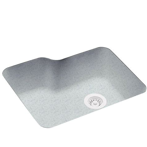 Solid Surface Undermount Sinks by Undermount Solid Surface 25 In 0 Single Bowl Kitchen