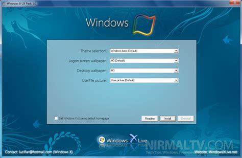nice themes for windows 8 1 free download free download windows 8 skin pack free for windows xp