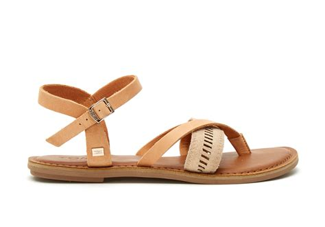 sandstorm leather metallic s lexie sandals toms 174