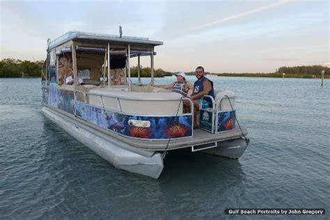 pontoon boats double decker 30 ft double decker pontoon boat picture of gasparilla