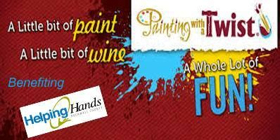 paint with a twist rockwall tx paint with a purpose to benefit rockwall helping