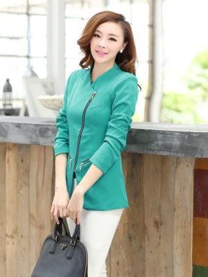 Jaket Jas Blazer Casual Cowok Biru blazer wanita toko pakaian model korea