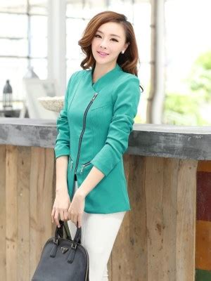Jaket Wanita Jas Import Jaket Murah Outer J 208 blazer wanita toko pakaian model korea