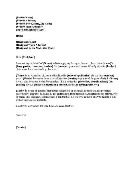 character reference letter for security licence 28