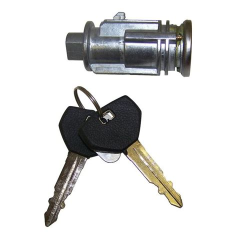 jeep wrangler key lock cylinder removal  installation  column mounted ignition