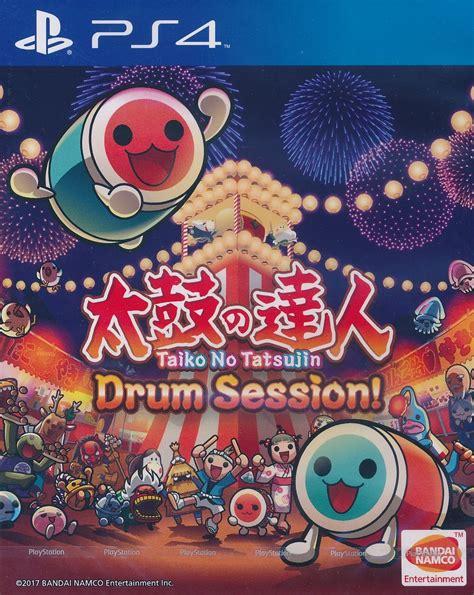 Taiko No Tatsujin Drum Session With Coaster Region 3 Asia Eng taiko no tatsujin drum session version ps4