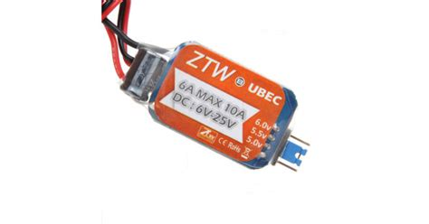 Ztw Ubec 6a buy ztw 6a switch mode ultimate bec ubec rcnhobby
