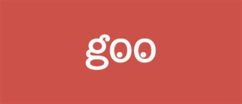 Goo by Ntt Resonant