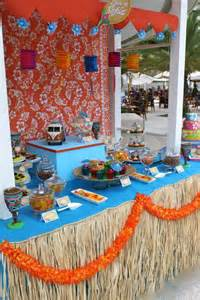 Seafood Dinner Party Ideas - luau party decor tablescapes amp food displays