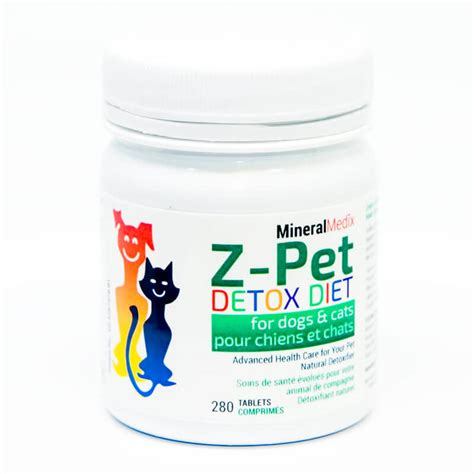 Diet Detox Symptoms In Dogs by Z Pet Detox Diet For Dogs And Cats Mineral Medixmineral