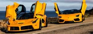 Lamborghini Aventador Vs Laferrari Laferrari Vs Aventador Automobili Eleganza