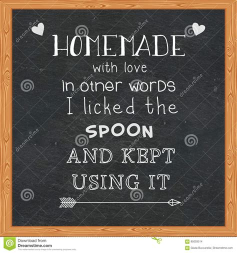 Other Words For Handmade - with in other words i licked the spoon and