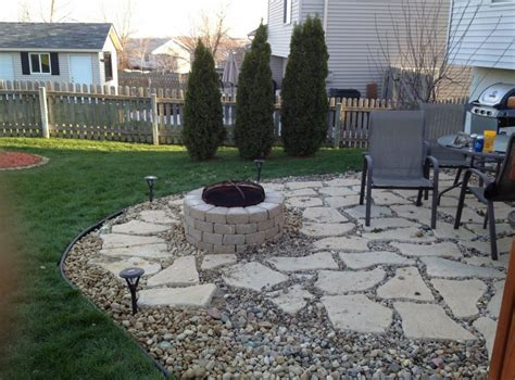 patio furniture rock ar gravel patio gravel concrete patio