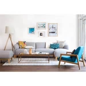 sofa skandinavischer stil retro wohnideen mit sofas und tische im 60er und 70er