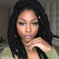 black girls with faux locs 486 likes 15 comments bobbi boss bobbiboss hair on