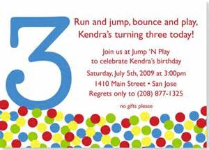 birthday invitations bouncy birthday invitation a