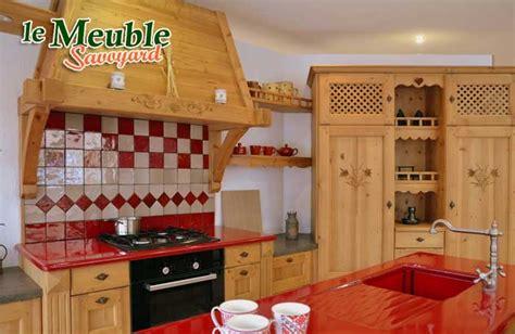 cuisine style chalet meuble de cuisine style montagne chaios com