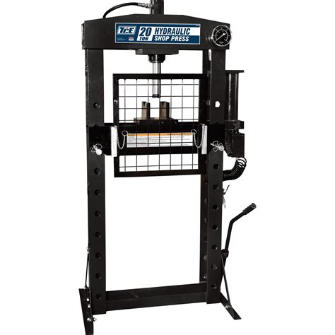 pneumatic shop press tce 20 ton pneumatic shop press with 20 ton model
