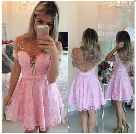 Klething Manggar Pink Dress 7 8th pink prom dress lovely prom dress evening dress