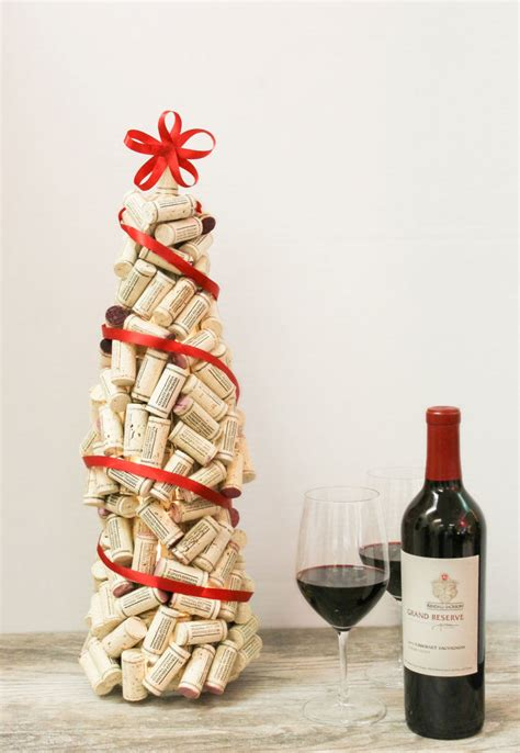 cork christmas tree 12 easy diy wine cork decorations