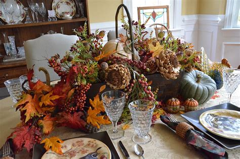 hometalk  fall tablescapepottery barn inspired