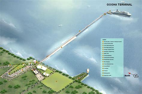 ferry boat gujarat dahej ghogha ro ro ferry project kicks off details with