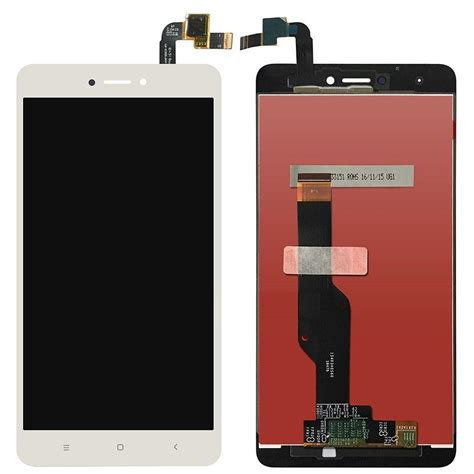 Xiaomi Redmi 4x Lcd Display And Touch Screen With Frame xiaomi redmi note 4x lcd display to end 4 12 2019 12 15 am