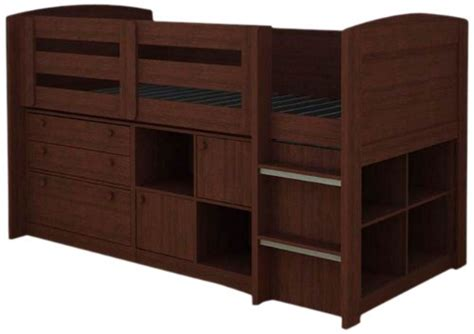 Rack Furniture Loft Bed by Rainbow Accents Low Rack Furniture Brookfield Loft Bed