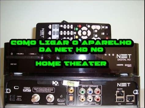 como ligar  aparelho da net tv  home theater youtube